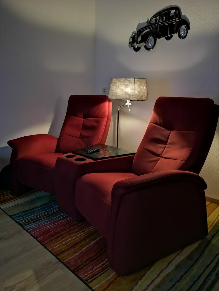 Bild 5: Fernsehsessel mit Relaxfunktion