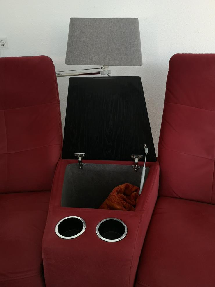 Bild 4: Fernsehsessel mit Relaxfunktion