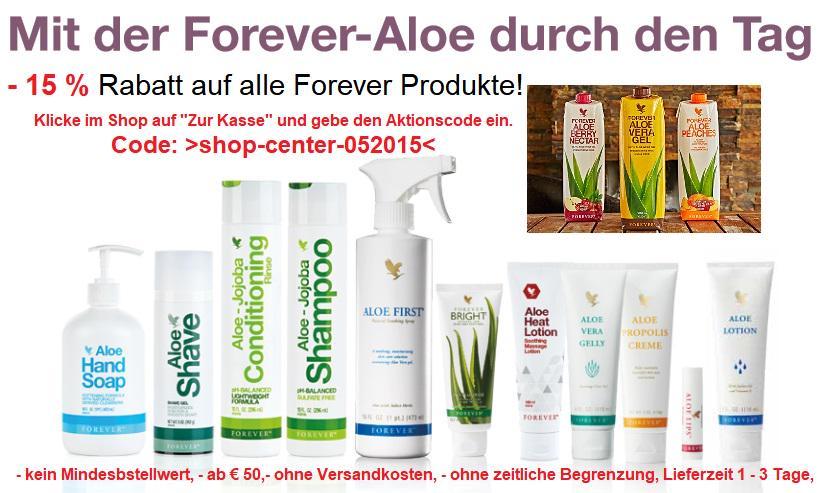 Bild 3: Forever living Aloe Vera Produkte
