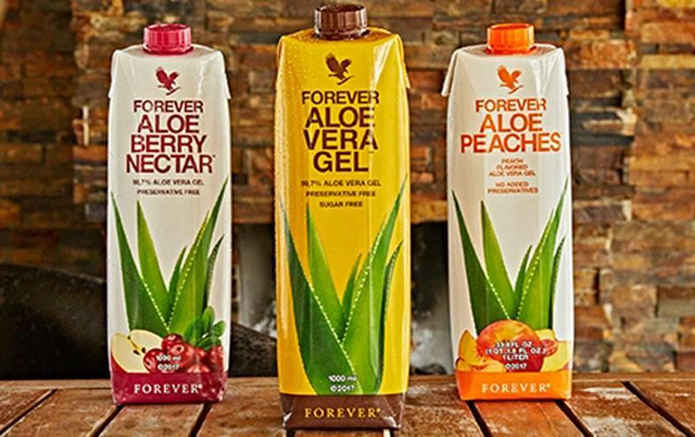 Bild 5: Forever living Aloe Vera Produkte