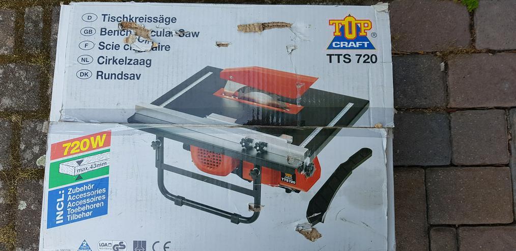 Tischkreissäge Top Craft TTS 720 - Sägen - Bild 1
