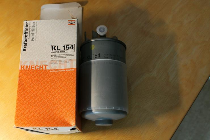 KNECHT Kraftstofffilter Dieselfilter KL154 - Filter (Luft, Kraftstoff, Öl, usw.) - Bild 1