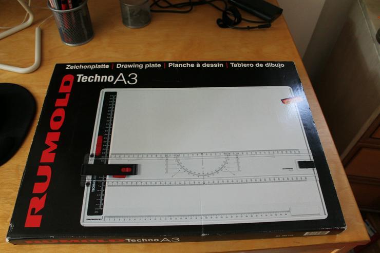 Bild 2: Zeichenplatte Rumold Techno A3 / Rumold 352110 System Marabu