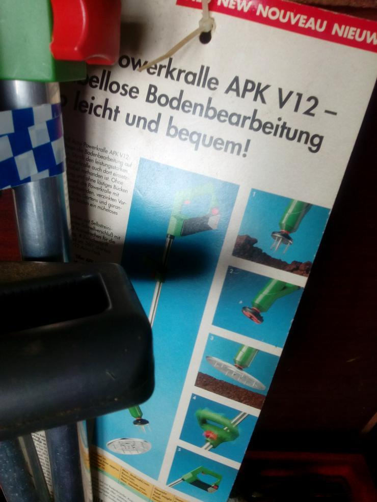Bild 4: Grasschere und Krümler 12 volt