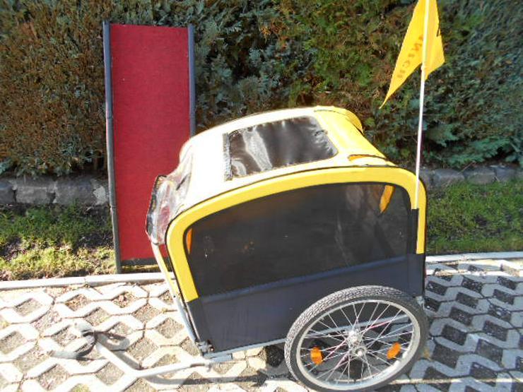Fahrradanhänger bis 35 kg für Hunde - Transport - Bild 1