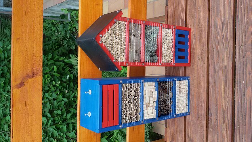 Bild 4: Insektenhotel Hoch