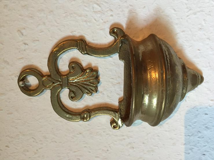 Antiker Weihwasserkessel aus Messing