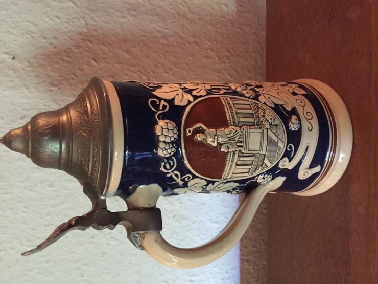 Bild 3: Alter Bierkrug mit Zinndeckel - München