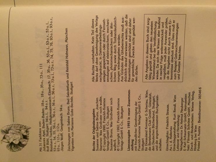 Bild 3: Buch - Was Großvater noch wusste - Bruns/Stammer 1993