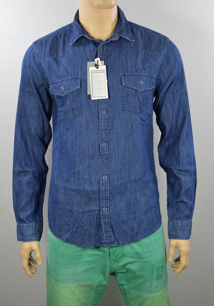 Jack & Jones JJDOVER Western Shirt Hemd Gr.L Shirts Hemden 4-1189