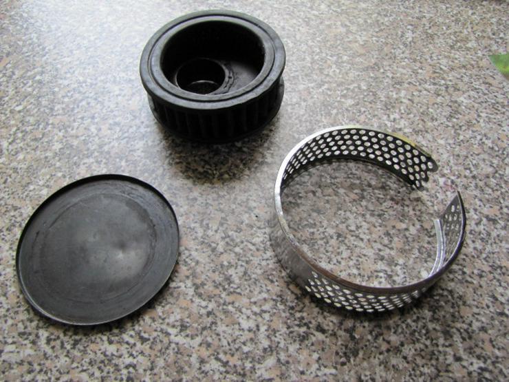 Harley-Davidson Luftfilter mit Aufnahmeteilen