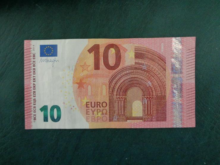 Bild 2: 10 Euro (€) Geldschein Banknote mit schöner Serien-Nr.-Endung: . . . 1 2 3 4