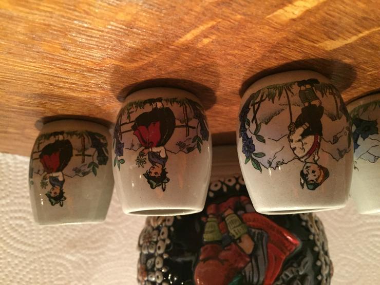 Bild 3: Marzi & Remy - Keramikkrug mit 5 Bechern