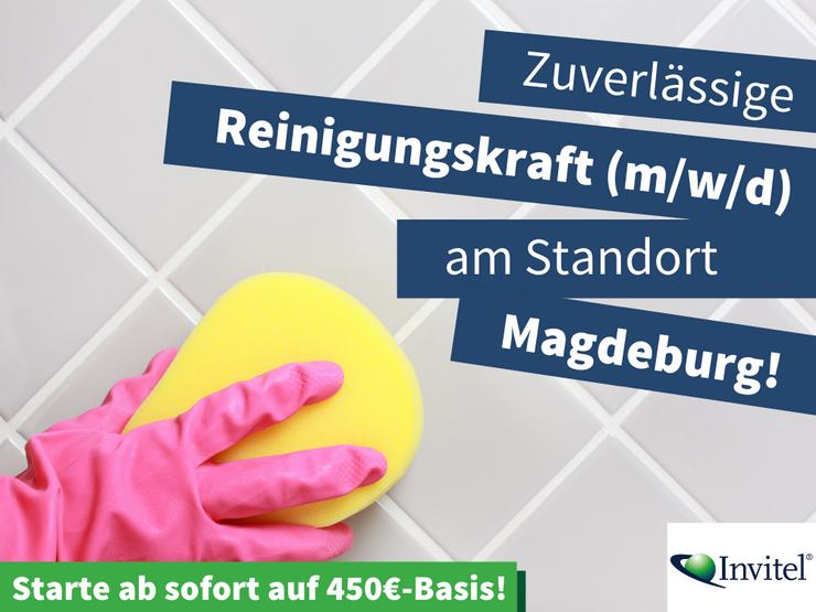 Reinigungskraft (m/w/d) auf 450€-Basis