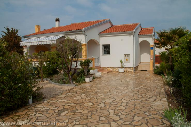 Ferienhaus Bungalow Kroatien Insel Vir 80m Meer 4Per  Alleinige Nutzung