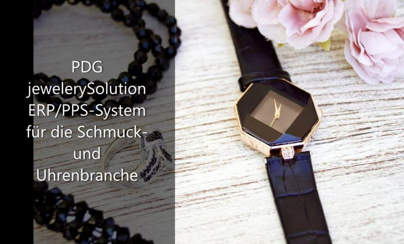 PDG jewelerySolution - ERP/PPS Software für den Schmuck-u.Uhrenbereich