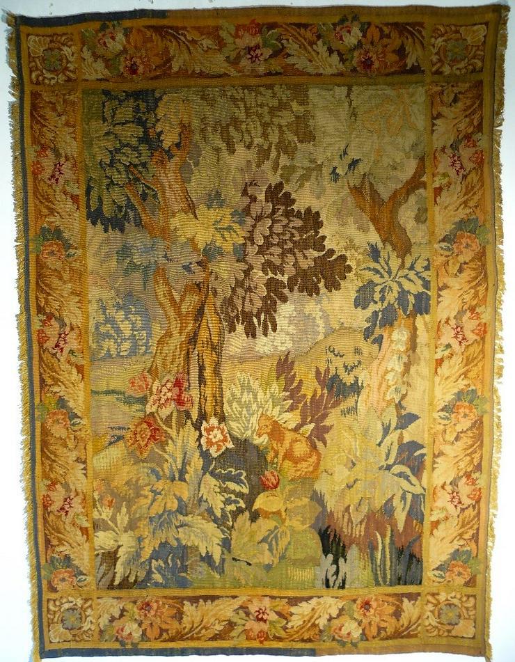 Gobelin Bildteppich Tapisserie Tapestry antik (G048)