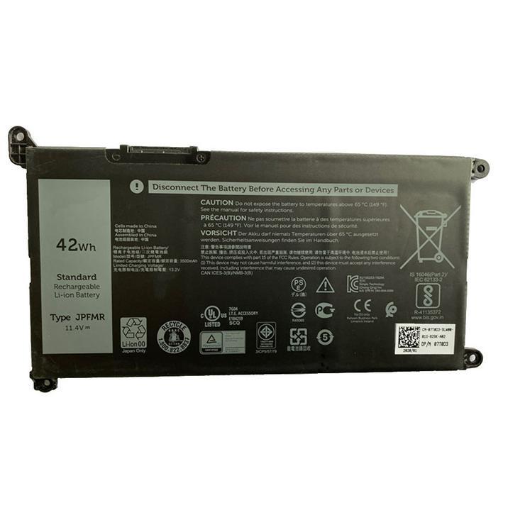 Laptop Akku Für Dell 3400 5488 5493 5593, 11.4V/13.2V 42Wh JPFMR - Akkus & Docking Stations - Bild 1