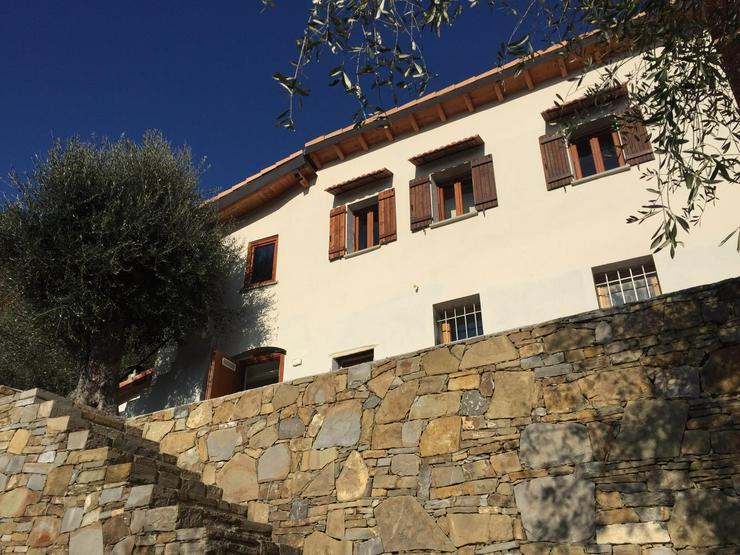 Steinhaus Dolceacqua Ligurien Italien