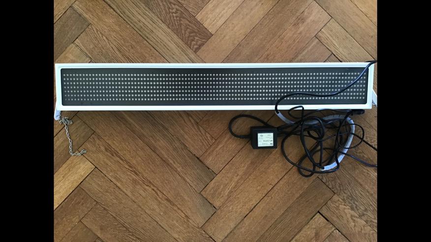 Leuchtband Leuchttafel LED 88 x14 cm