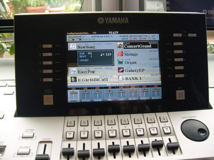 Yamaha Tyros 3 komplett Premium Voices