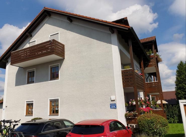 Gepflegte 1-Zimmer-Wohnung mit Balkon und Einbauküche in Passau (Heining)