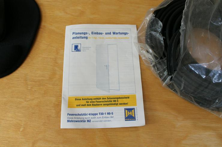 Bild 5: T30 Brandschutztür Dichtung T30-1 H8-5