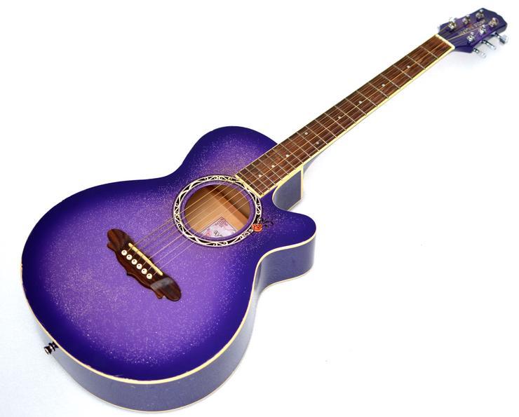 """Designer Gitarre """"Gypsy Rose"""" 7/8, für Kinder und Jugendliche"""