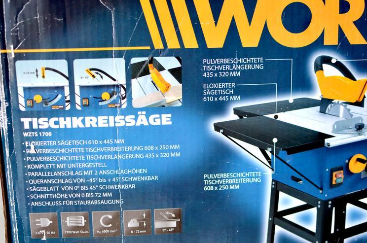 Bild 3: Tischkreissäge Workzone