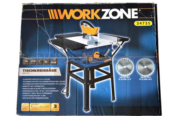Tischkreissäge Workzone