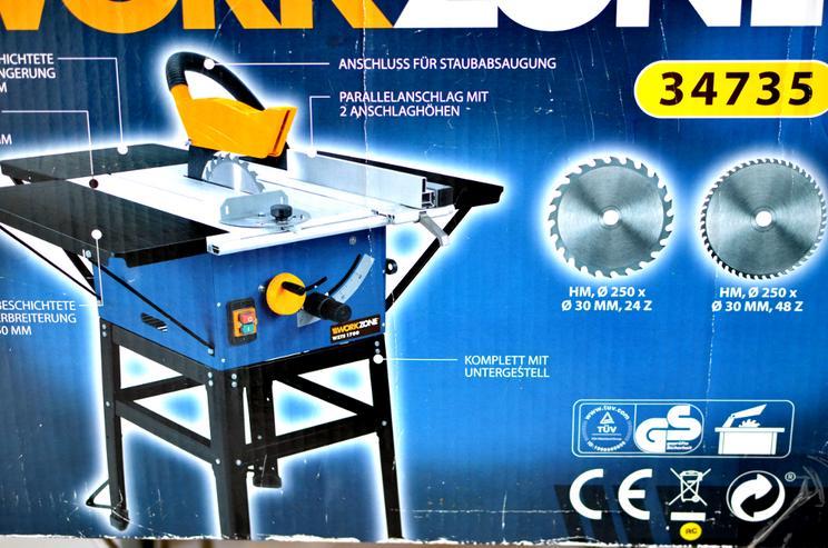 Bild 4: Tischkreissäge Workzone