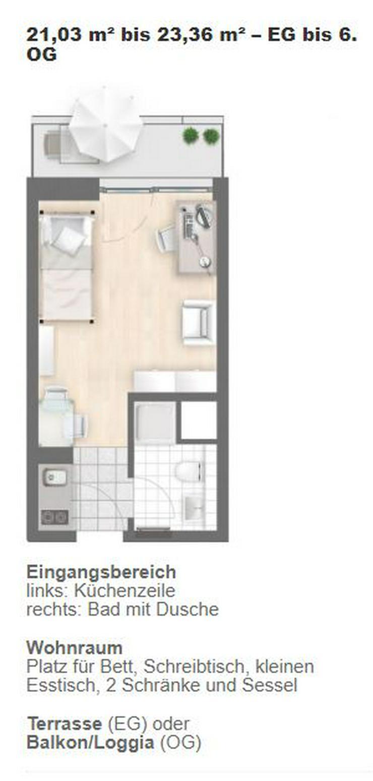 Nachmieter gesucht - 20 qm Appartement München-Laim - S-Bahn