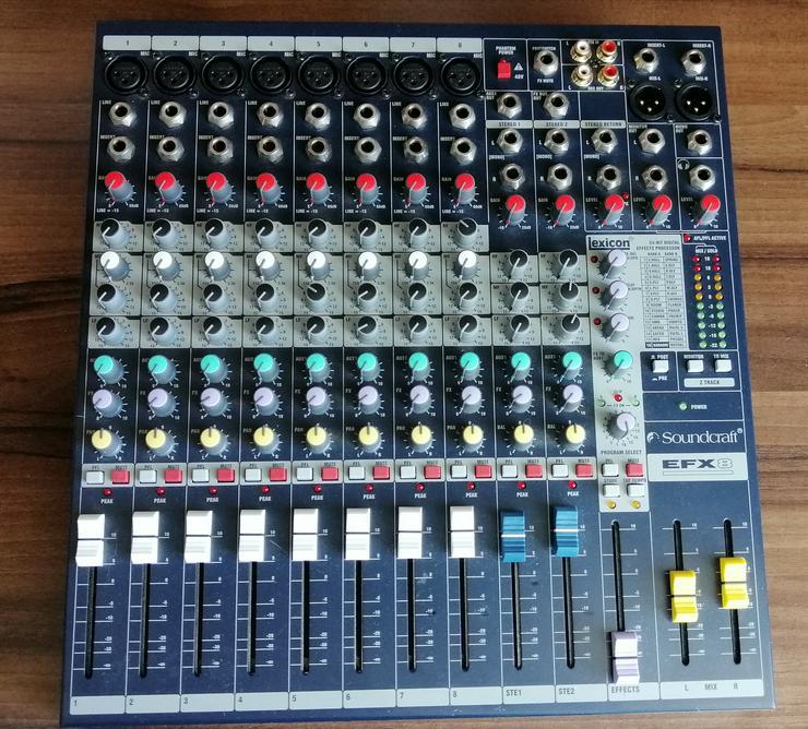 Mischpult Soundcraft EFX 8 OVP neuwertig