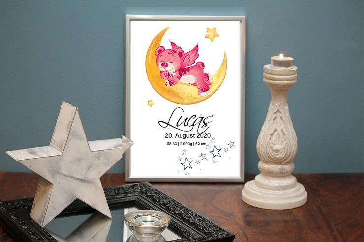 Bild 2: Poster Geburt 40x30 cm personalisiert Geschenk