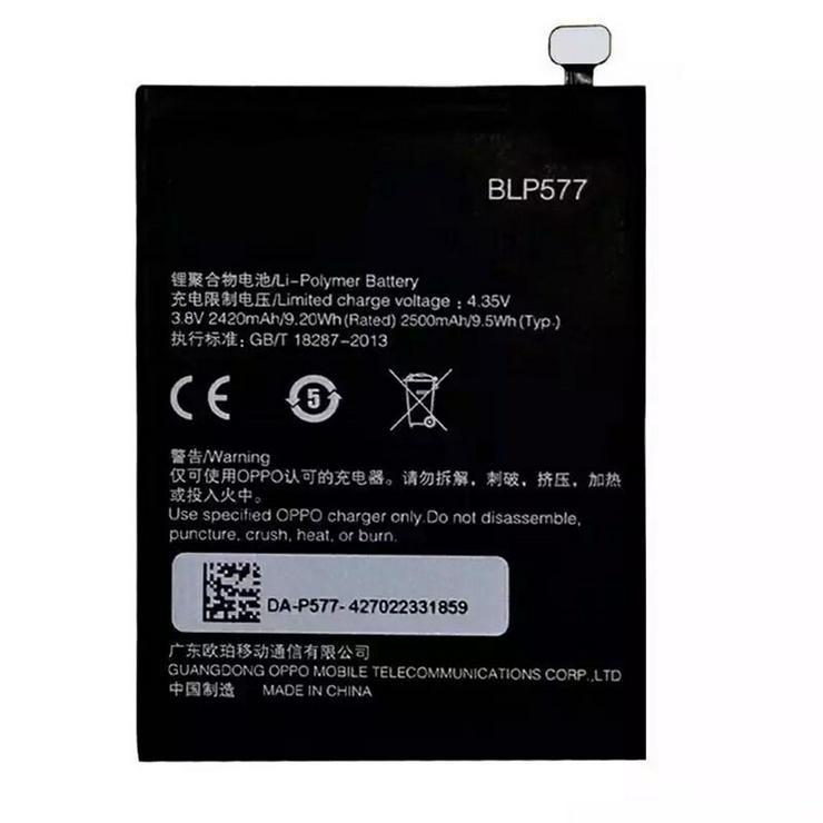 OPPO BLP577 Akku für OPPO r3 r7005 r7007, 2420MAH/9.20WH, 3.8V/4.35V, Batterien - Akkus - Bild 1