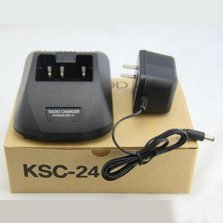 Netzteil passend für Kenwood PB-43 PB-43N TH-K2AT TH-K2E TH-K2ET TH-K4AT TH-K4E - Kabel & Stecker - Bild 1