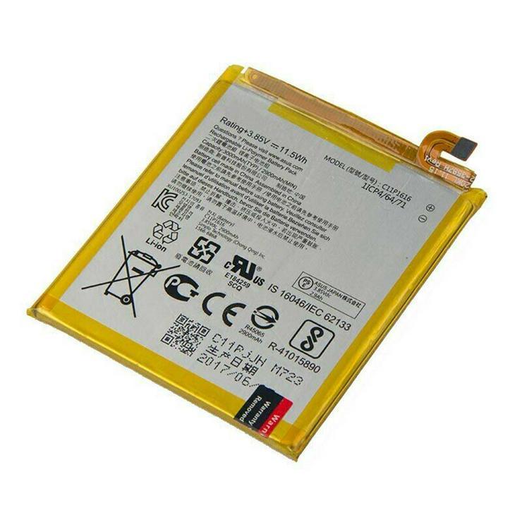Smartphone Akku Für Asus ZenFone V V520KL A006, 3.85V 2900mAh/11.5WH C11P1616 - Akkus - Bild 1