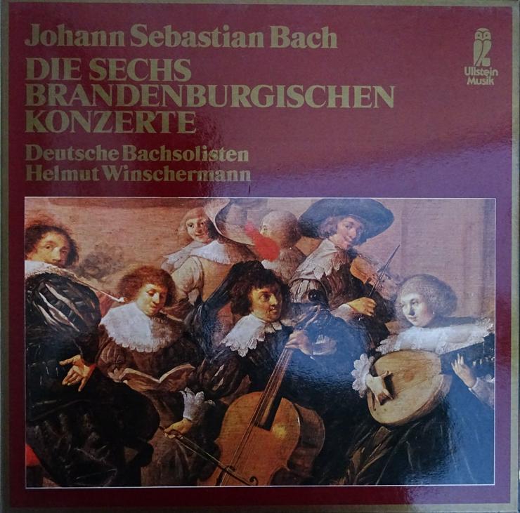 Klassik-Schallplatten - u.a. Brandenburger Konzerte - LPs & Schallplatten - Bild 1