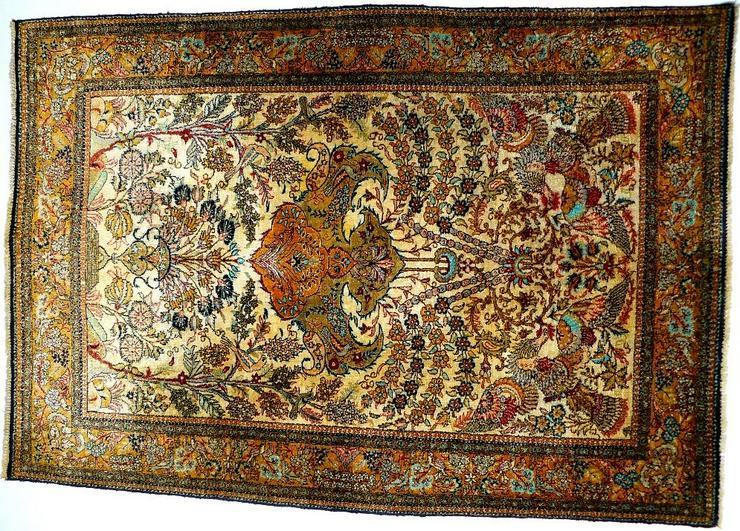 Orientteppich Ghom Seide superfein (T093)
