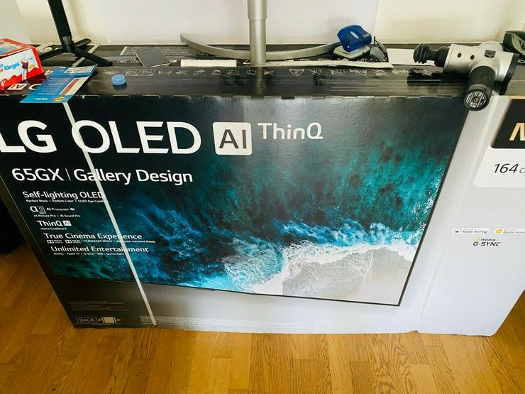 LG OLED65GX9LA OLED-TV 65 Zoll 4K Ultra HD Smart TV
