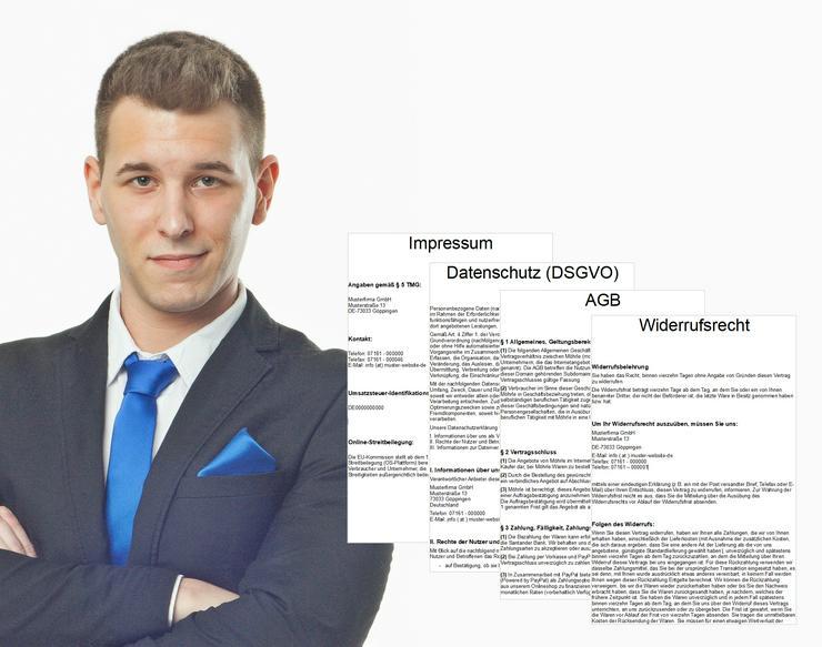 Rechtstexte | Impressum | DSGVO Datenschutz | AGB | Cookies - PC & Multimedia - Bild 1