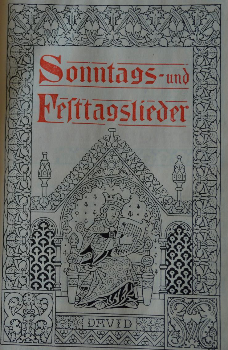 Bild 4: Gesangbuch der Evangilisch Lutherischen Landeskirche Hannover