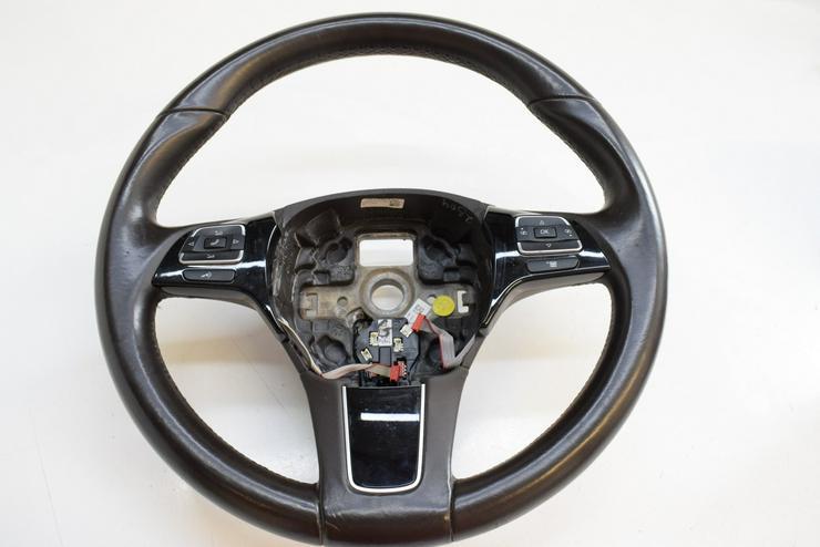 2017 VW VOLKSWAGEN TOUAREG Multifunktionslenkrad Lenkrad 7P6419091A - Lenkräder & Zubehör - Bild 1