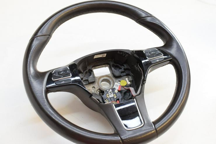 Bild 4: 2017 VW VOLKSWAGEN TOUAREG Multifunktionslenkrad Lenkrad 7P6419091A