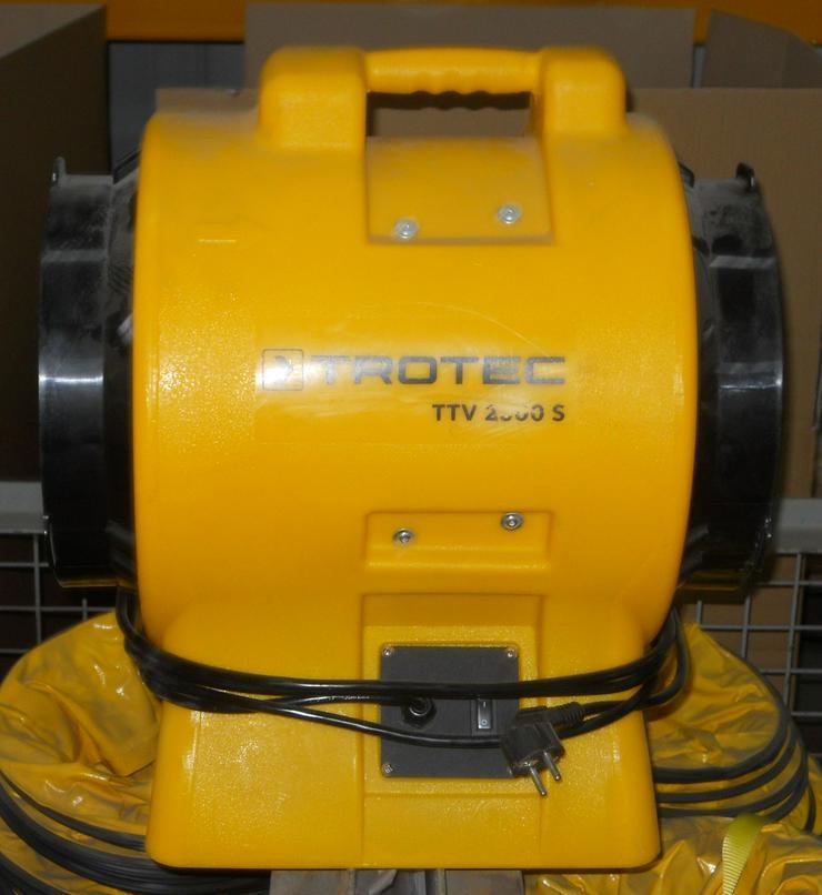 Bild 3: TROTEC Ventilator TTV 2500 S