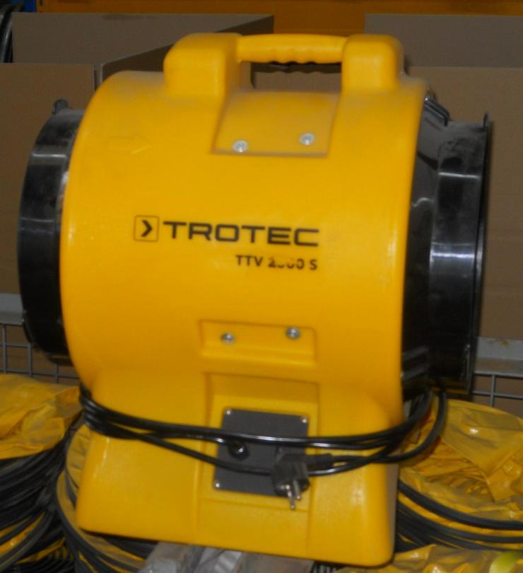 Bild 2: TROTEC Ventilator TTV 2500 S