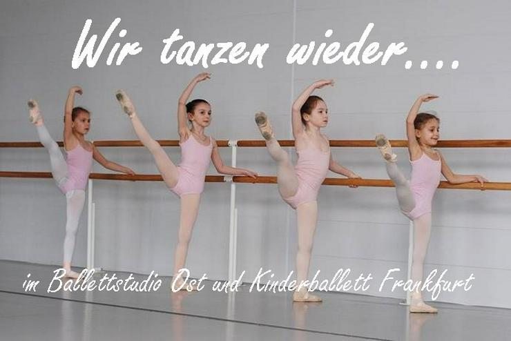 Zum 17.08.2020 tanzen wir wieder vor Ort - Kinderballett Frankfurt
