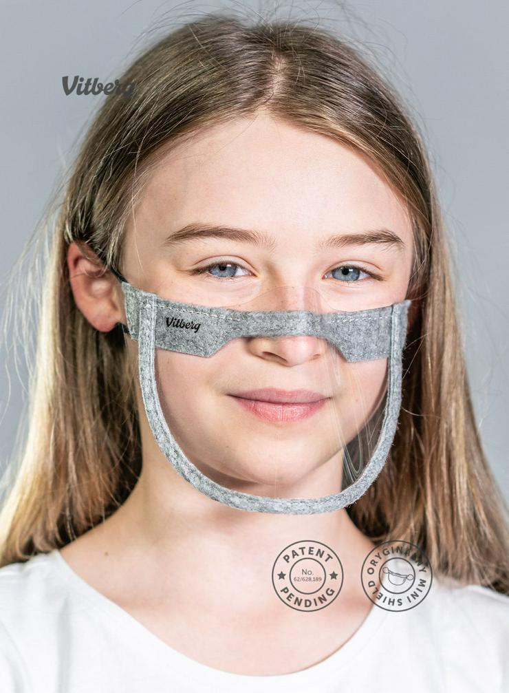 Bild 7: Mundschutz Vitberg Mini Shield Maske