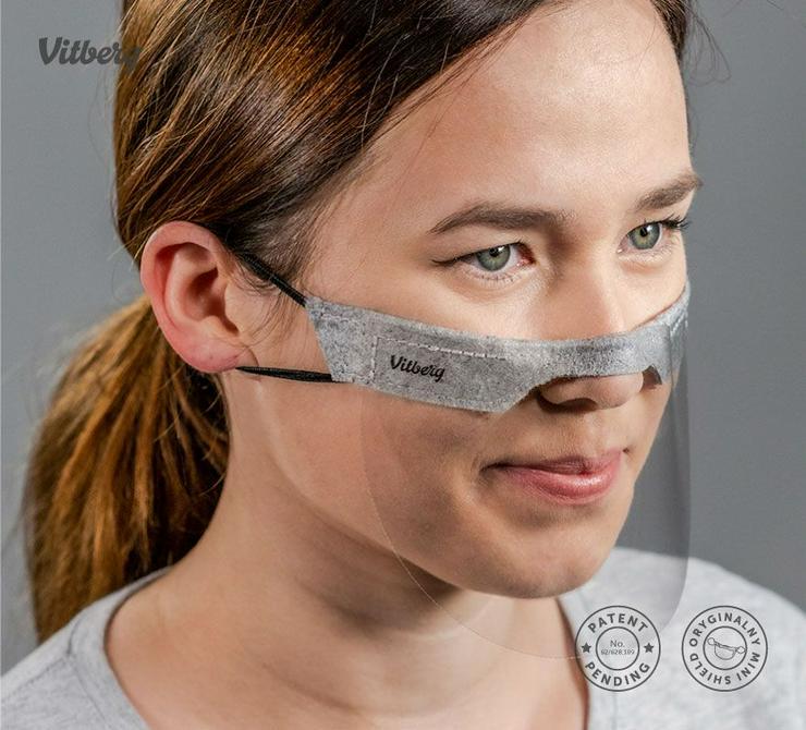 Mundschutz Vitberg Mini Shield Maske