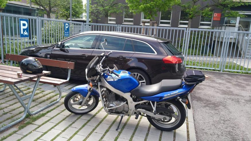 Bild 3: Motorrad Suzuki GS 500, *TIEFERGELEGT* (ab 1,55 m Körpergröße)